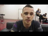 SEAN McGOLDRICK REACTS TO DEBUT WIN IN MANCHESTER ON UNDERCARD OF JORGE LIANRES v ANTHONY CROLLA