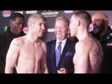 SHOCK AS LIAM SMITH MISSED WEIGHT! - LIAM SMITH v LIAM WILLIAMS - OFFICIAL WEIHGH IN & HEAD TO HEAD