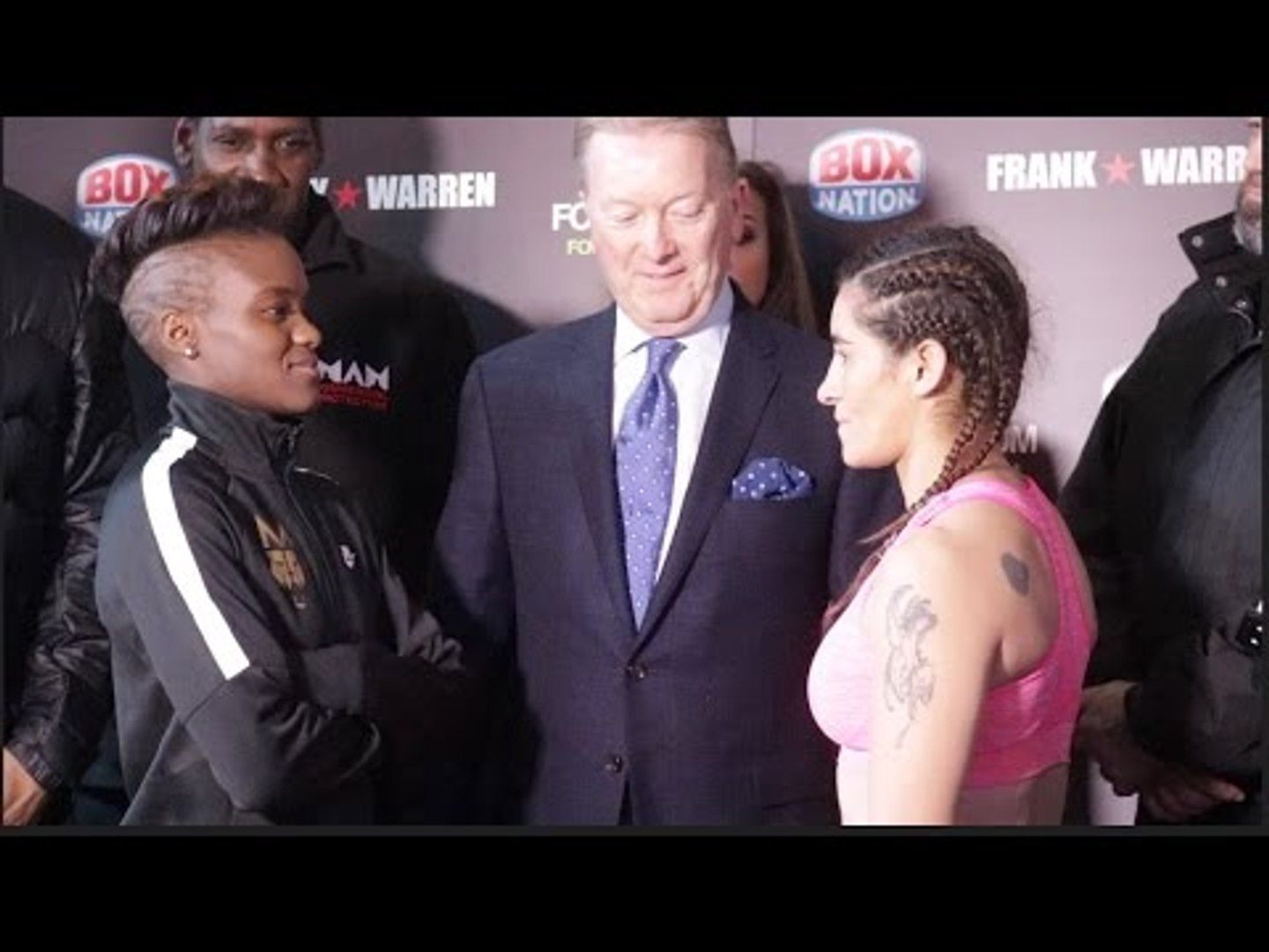 THE LIONESS! NICOLA ADAMS FIRST EVER PROFESSIONAL WEIGH IN IN MANCHESTER / ADAMS v CARCAMO