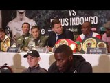 RICKY BURNS v JULIUS INDONGO - OFFICIAL PRESS CONFERENCE FROM SCOTLAND / BURNS v INDONGO