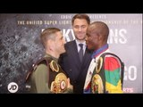 RICKY BURNS v JULIUS INDONGO - OFFICIAL HEAD TO HEAD @ FINAL PRESS CONFERENCE / BURNS v INDONGO
