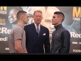 JAZZA DICKENS v THOMAS PATRICK WARD - HEAD TO HEAD @ FINAL PRESS CONFERNCE / DICKENS v WARD