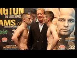 JAZZA DICKENS v THOMAS PATRICK WARD - OFFICIAL WEIGH IN VIDEO - FROM LEEDS / DICKENS v WARD