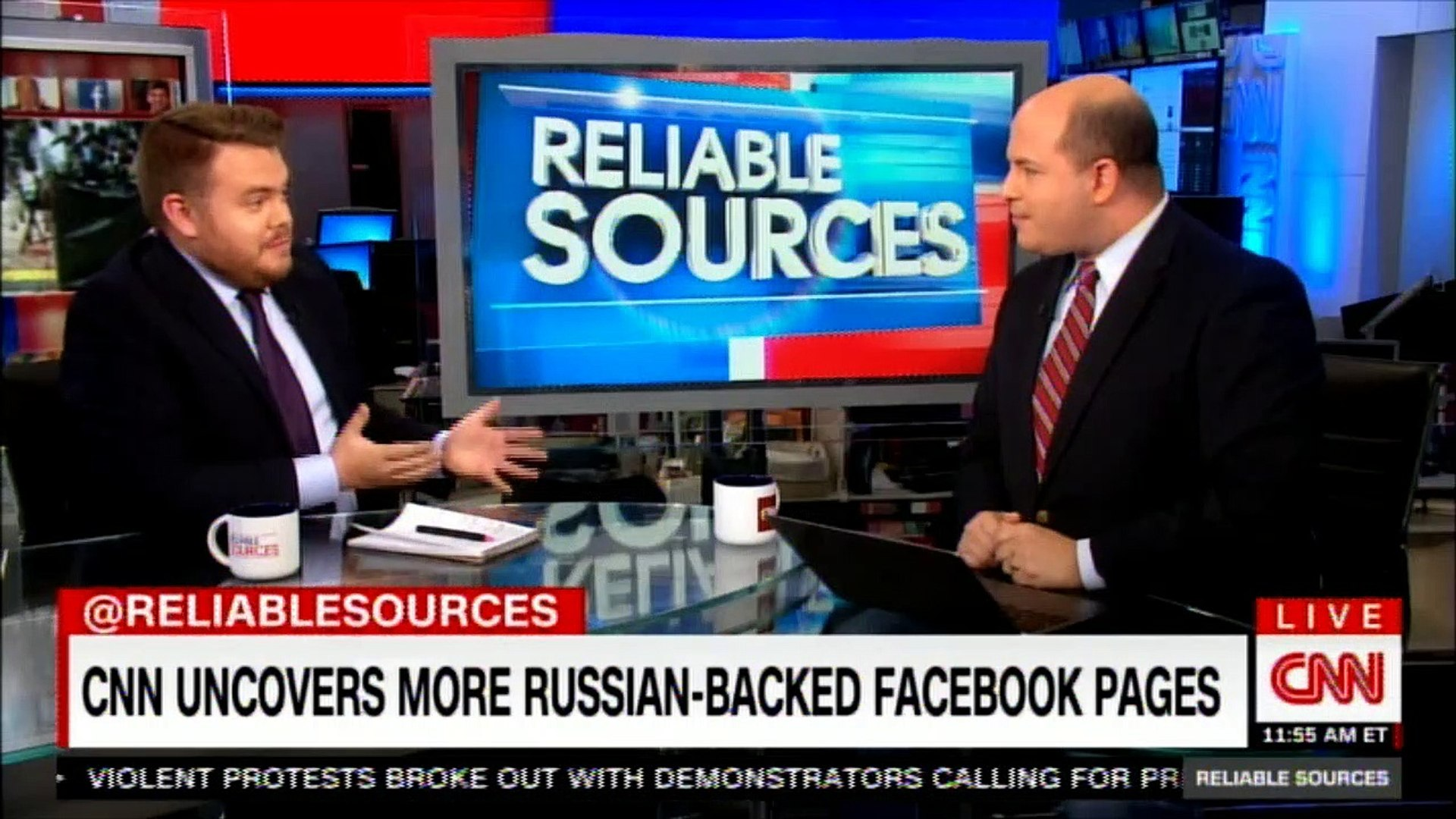 CNN uncovers more Russian-Backed Facebook pages. #CNN #Facebook #RussiaProbe #News #Breaking #Reliab