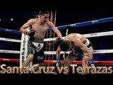 Leo Santa Cruz vs Victor Terrazas (Highlights)