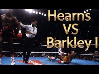 Thomas Hearns vs Iran Barkley I (Highlights)