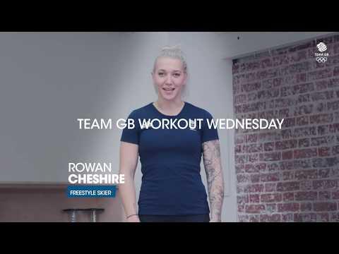 Rowan Cheshire's leg workout: Workout Wednesday 13.02.19