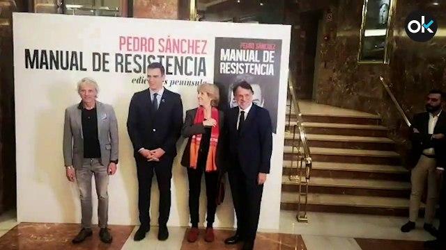 Pedro Sánchez durante la presentación de su libro 'Manual de resistencia'