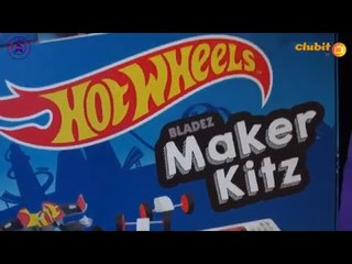 New Hot Wheels Maker Kitz and Crash Racers from Bladez Toyz