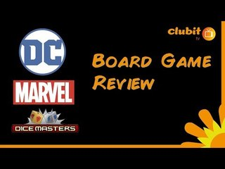 DC and Marvel Dice Masters Board Game Review