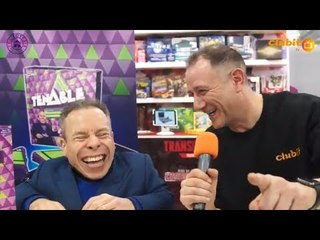 Warwick Davis Interview and Tenable Board Game Launch at Toy Fair 2019