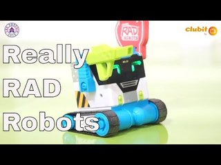 MiBro Really Rad Robots Demo at Toy Fair 2019