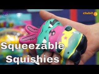Squishy Squeezable Stress Relief Fun Toys