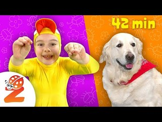 Preschool & Baby Songs with Animals | Zouzounia TV