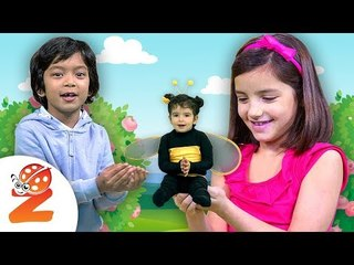 Baby Bumblebee   NEW Nursery Rhyme | Zouzounia TV