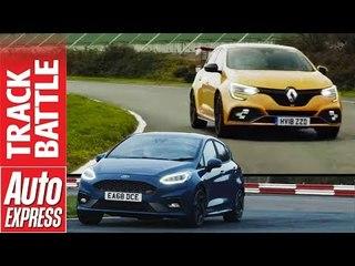 Ford Fiesta ST vs Renault Megane RS - Hot Hatch track battle