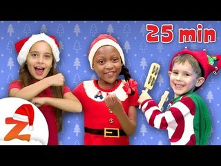 Kids Christmas Party  Jingle Bells & more Nursery Rhymes and Christmas Carols Collection