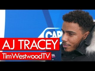 AJ Tracey on new album, goat cover, Cadet passing away, Giggs, his style, tour - Westwood