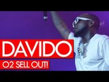 Davido super LIT show at sold out O2 Arena London! Making history! Westwood