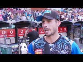 Adelaide Strikers batsman Jon Wells interview | BBL