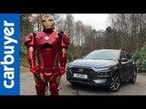 Hyundai Kona Iron Man SUV 2019 in-depth review - Carbuyer