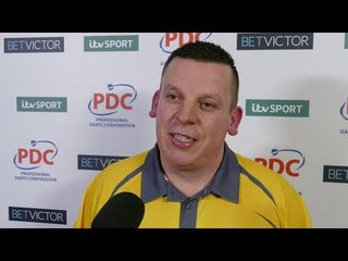 Dave Chisnall REACTS to COMEBACK WIN over Daryl Gurney at the BetVictor Masters