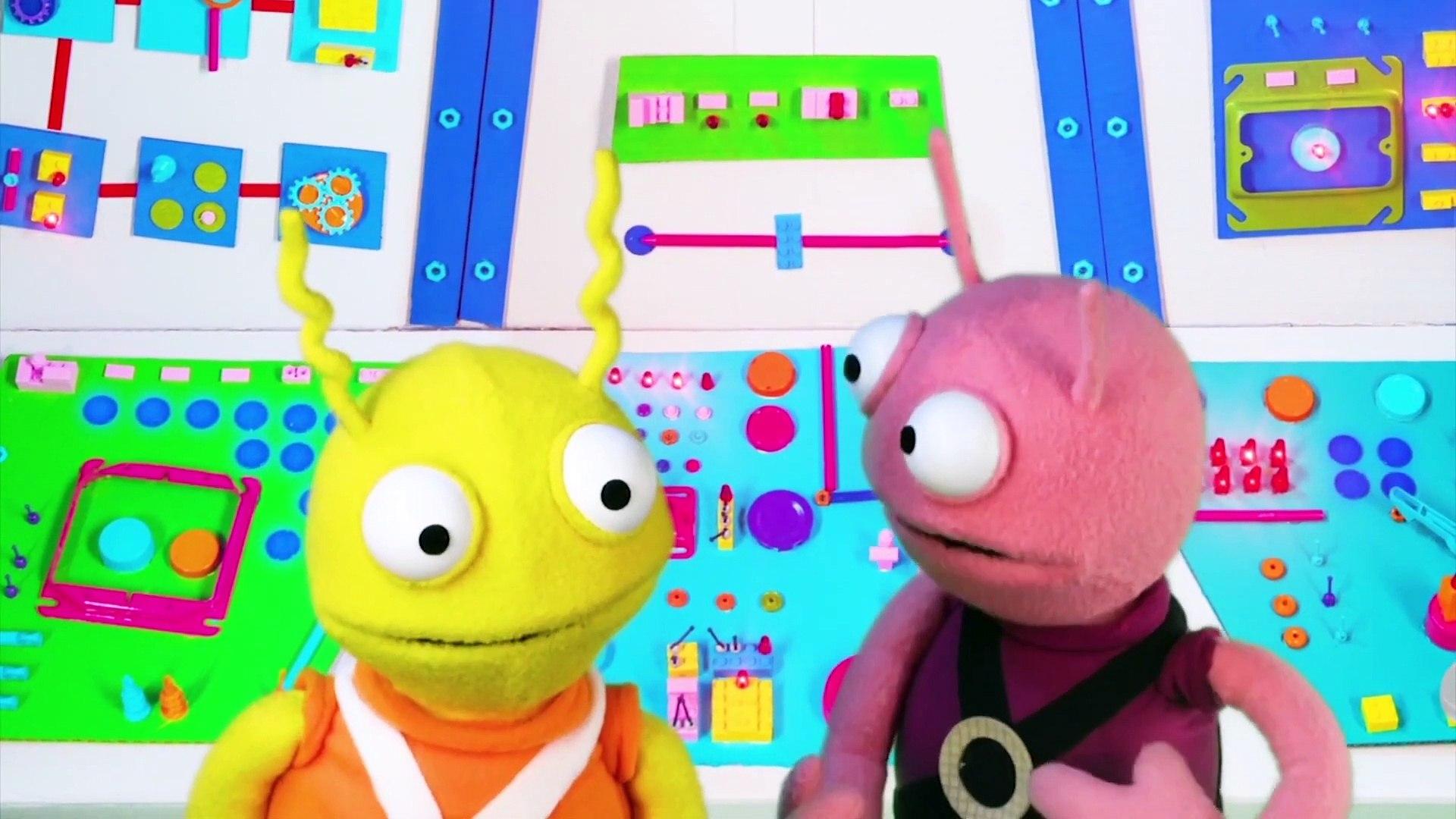 Mish & Mash | Monster Truck Demolition | eps 4 | Puppet Show for Kids |   Happy Kids