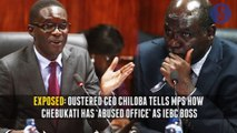 Chiloba exposes Chebukati, Foetuses litter campuses, Aid worker still missing: Your Breakfast Briefing