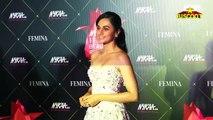 OMG Zareen Khan FATSO Look while Tapsee Pannu Looks HOTTIE - Nykaa Femina Beauty Awards 2019