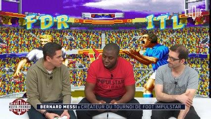 Besto Friendo avec Bernard Messi - CLIQUE TV