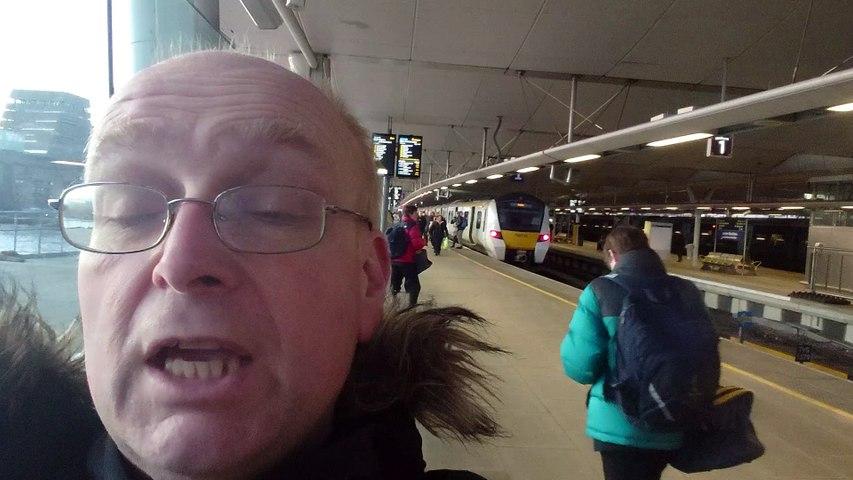 I Saw An Angel At London Blackfriars Station