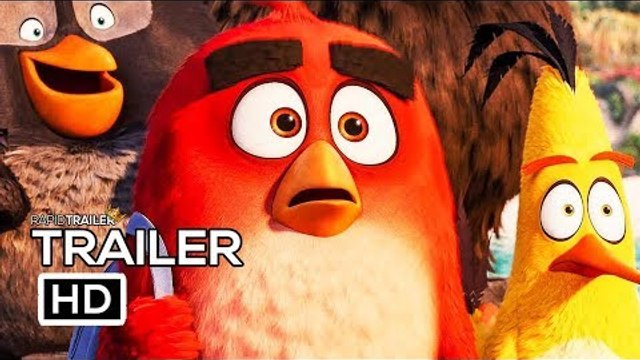 THE ANGRY BIRDS MOVIE 2 Official Trailer (2019) Animated Movie HD
