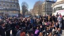 Greta Thunberg et une délégation belge à la marche pour le climat à Paris
