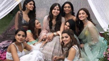 Alia Bhatt takes part in Sangeet, Haldi ceremony at bestie's marriage