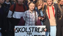 Climate campaign star Greta Thunberg 'will meet Macron' after Paris march