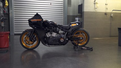 FXR Division's Milwaukee-Eight Roadracer From The Hot Bike Tour