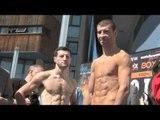 CARL FROCH v LUCIAN BUTE OFFICIAL WEIGH-IN / iFILM LONDON / NO EASY WAY OUT