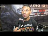 KELL BROOK - 'I WANT TO TAKE KHAN'S CHIN OFF' - INTERVIEW FOR iFILM LONDON / THIS IS IT PRESS CONF.