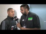 KELL BROOK POST-FIGHT INTERVIEW FOR iFILM LONDON / BROOK v SALDIVIA