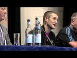 RICKY BURNS v KEVIN MITCHELL POST-FIGHT PRESS CONFERENCE (UNCUT)  / iFILM LONDON /