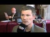 RICKY HATTON INTERVIEW FOR iFILM LONDON / HATTON v SENCHENKO PRESS CONFERENCE