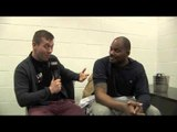 TONY THOMPSON CALLS OUT TYSON FURY / POST-FIGHT INTERVIEW FOR iFILM LONDON / PRICE v THOMPSON