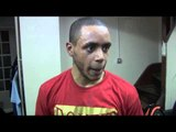 AHMET PATTERSON POST-FIGHT INTERVIEW FOR iFILM LONDON / PATTERSON v MAXWELL