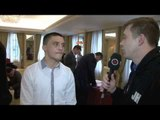 'I DO THE TALKING WITH MY FISTS' - LEE SELBY INTERVIEW FOR iFILM LONDON / MATCHROOM PRESS CONFERENCE