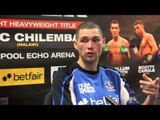 TONY BELLEW POST-FIGHT PRESS CONFERENCE / BELLEW v CHILEMBA / NO RETREAT NO SURRENDER