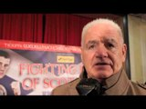 ALEX MORRISON TALKS RICKY BURNS FOR iFILM LONDON / GLASGOW PRESS CONFERENCE / BURNS v GONZALEZ
