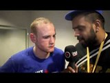 GEORGE GROVES POST-FIGHT INTERVIEW FOR iFILM LONDON / GROVES v ALCOBA / 02 ARENA