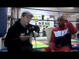 LEON McKENZIE TALKS MAKING THE SWITCH FROM FOOTBALL TO BOXING & HIS EXCITEMENT ABOUT HIS PRO DEBUT