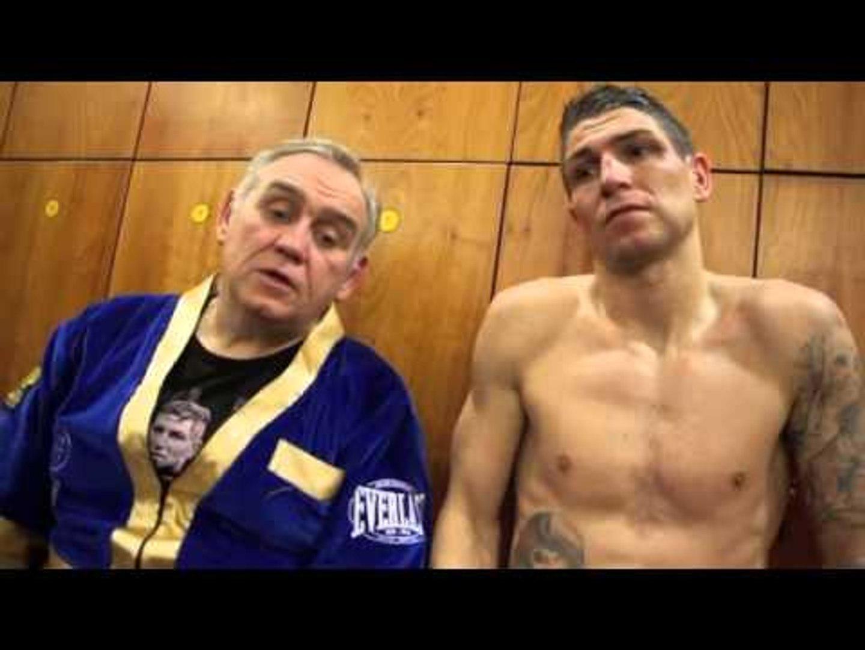 BRIAN ROSE & BOBBY RIMMER POST-FIGHT INTERVIEW @ BOLTON ARENA / ROSE v RIBCHEV