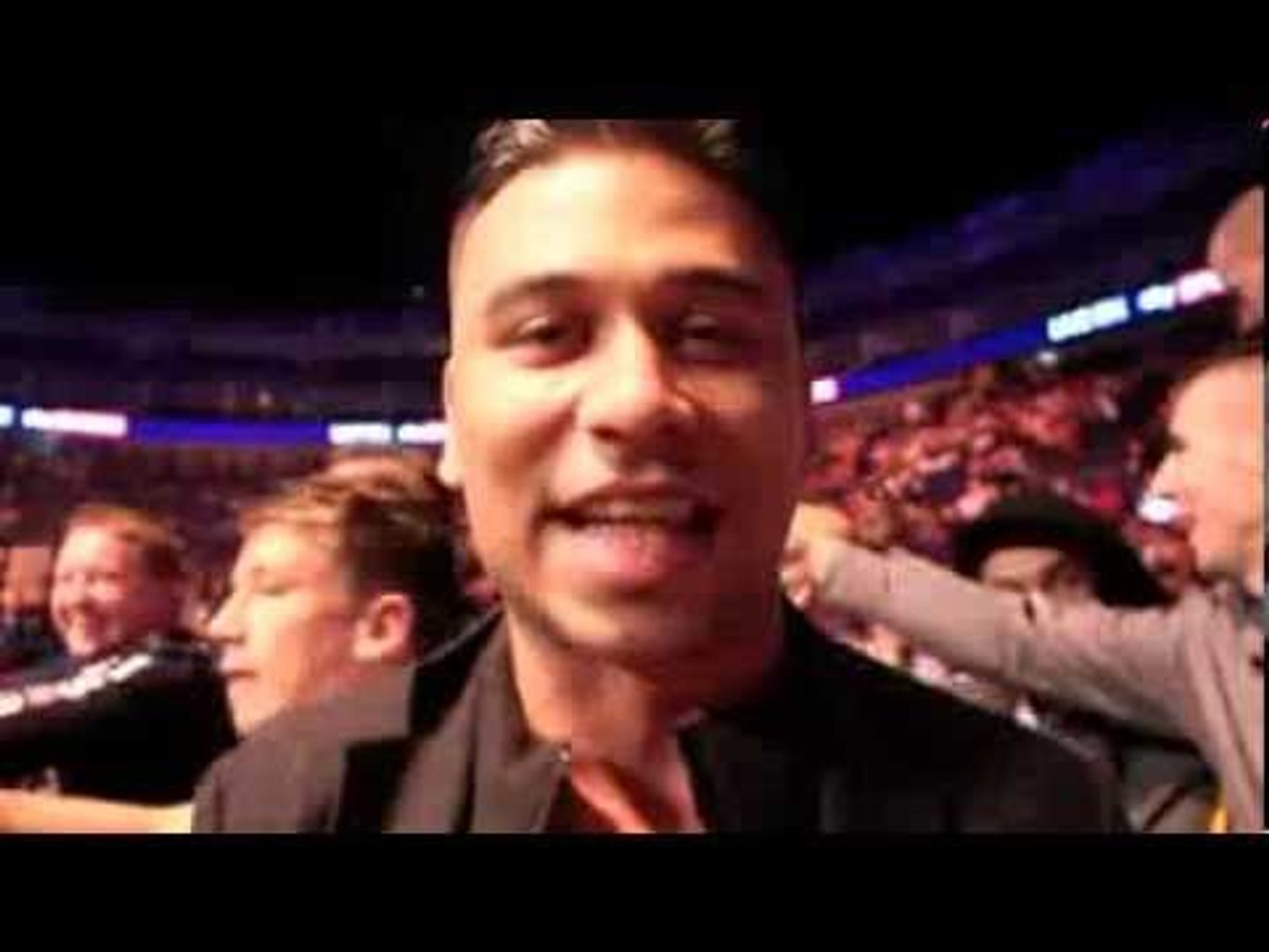 RICKY NORWOOD (EASTENDERS' FATBOY) SAYS ANTHONY JOSHUA WILL 'DOMINATE THE SPORT' / CA